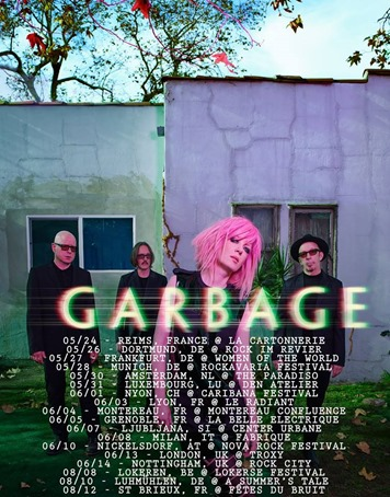 Garbage Tour 2016