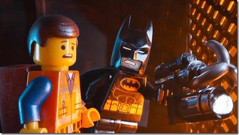 Emmet and Batman