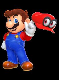 Super Mario Odyssey Cappy